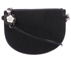 Black Leather Crossbody Bag New